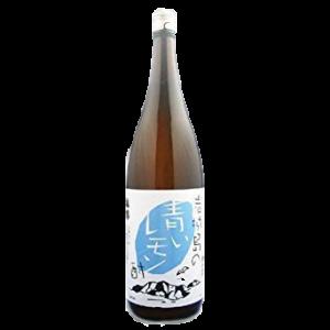 岩城島の青いレモン酒