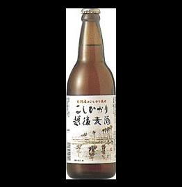 地ビール こしひかり越後ビール(500ml)