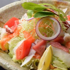 北水海鮮サラダ