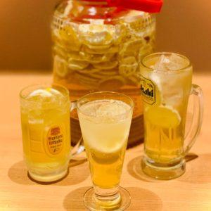 自家製レモン酢ドリンク